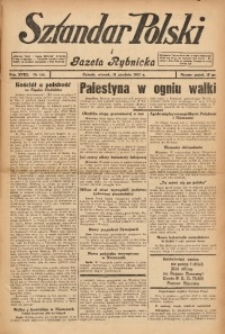 Sztandar Polski i Gazeta Rybnicka, 1937, R. 18, Nr. 146
