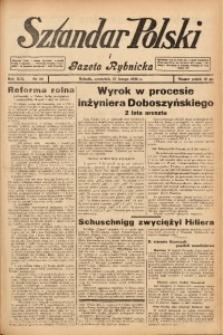 Sztandar Polski i Gazeta Rybnicka, 1938, R. 19, Nr. 20