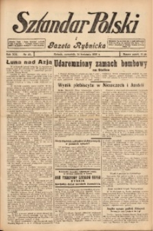 Sztandar Polski i Gazeta Rybnicka, 1938, R. 19, Nr. 45