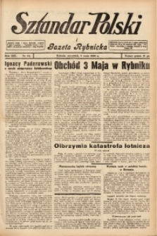 Sztandar Polski i Gazeta Rybnicka, 1938, R. 19, Nr. 53