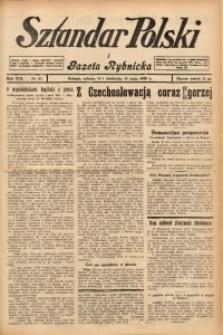 Sztandar Polski i Gazeta Rybnicka, 1938, R. 19, Nr. 57