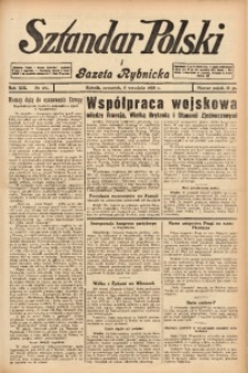 Sztandar Polski i Gazeta Rybnicka, 1938, R. 19, Nr. 104