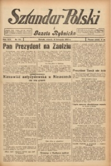 Sztandar Polski i Gazeta Rybnicka, 1938, R. 19, Nr. 133