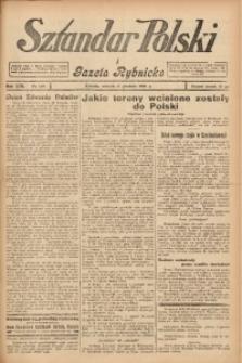 Sztandar Polski i Gazeta Rybnicka, 1938, R. 19, Nr. 142