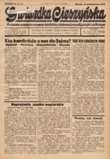 Gwiazdka Cieszyńska, 1938, R. 91, nr 80