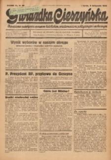Gwiazdka Cieszyńska, 1938, R. 91, nr 86