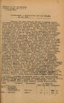 Sprawozdanie z działalności Zarządu Związku za rok 1969