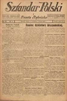Sztandar Polski i Gazeta Rybnicka, 1930, R. 12, Nr. 13