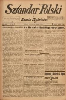 Sztandar Polski i Gazeta Rybnicka, 1930, R. 12, Nr. 37