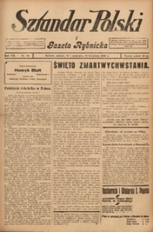 Sztandar Polski i Gazeta Rybnicka, 1930, R. 12, Nr. 46