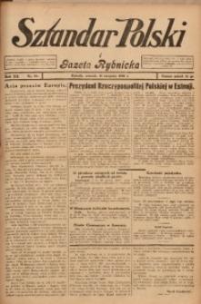 Sztandar Polski i Gazeta Rybnicka, 1930, R. 12, Nr. 93