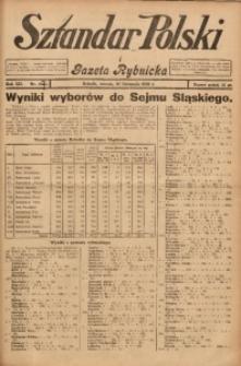 Sztandar Polski i Gazeta Rybnicka, 1930, R. 12, Nr. 137