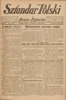 Sztandar Polski i Gazeta Rybnicka, 1930, R. 12, Nr. 142