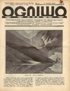 Ogniwo, 1937, R. 3, nr 6
