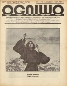 Ogniwo, 1937, R. 3, nr 14/15