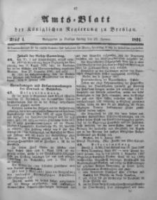Amts-Blatt der Königlichen Regierung zu Breslau, 1891, Bd. 82, St. 4