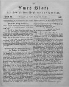 Amts-Blatt der Königlichen Regierung zu Breslau, 1891, Bd. 82, St. 30