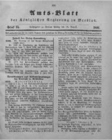 Amts-Blatt der Königlichen Regierung zu Breslau, 1891, Bd. 82, St. 35