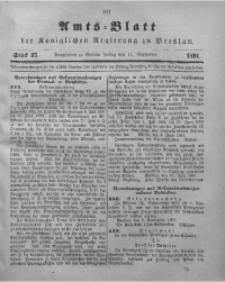 Amts-Blatt der Königlichen Regierung zu Breslau, 1891, Bd. 82, St. 37