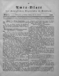 Amts-Blatt der Königlichen Regierung zu Breslau, 1894, Bd. 85, St. 4