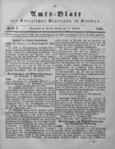Amts-Blatt der Königlichen Regierung zu Breslau, 1894, Bd. 85, St. 7