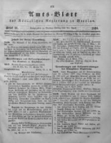 Amts-Blatt der Königlichen Regierung zu Breslau, 1894, Bd. 85, St. 16