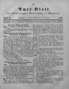 Amts-Blatt der Königlichen Regierung zu Breslau, 1894, Bd. 85, St. 46