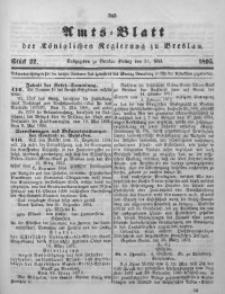 Amts-Blatt der Königlichen Regierung zu Breslau, 1895, Bd. 86, St. 22