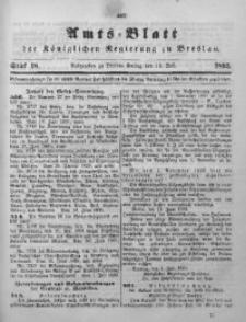 Amts-Blatt der Königlichen Regierung zu Breslau, 1895, Bd. 86, St. 28