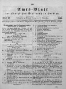 Amts-Blatt der Königlichen Regierung zu Breslau, 1895, Bd. 86, St. 46