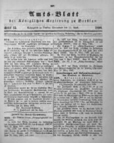 Amts-Blatt der Königlichen Regierung zu Breslau, 1896, Bd. 87, St. 15