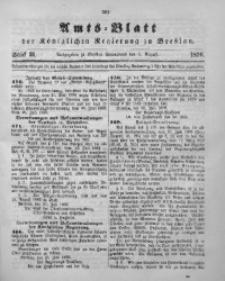 Amts-Blatt der Königlichen Regierung zu Breslau, 1896, Bd. 87, St. 31
