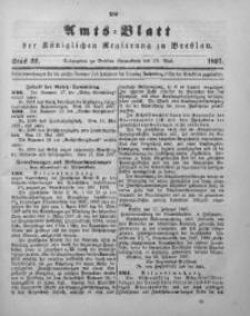 Amts-Blatt der Königlichen Regierung zu Breslau, 1897, Bd. 88, St. 22