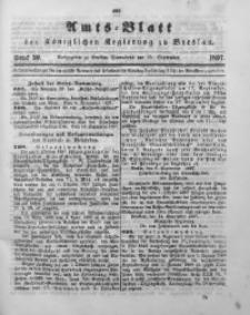 Amts-Blatt der Königlichen Regierung zu Breslau, 1897, Bd. 88, St. 39