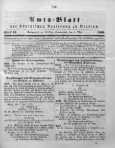 Amts-Blatt der Königlichen Regierung zu Breslau, 1900, Bd. 91, St. 18