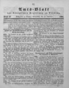 Amts-Blatt der Königlichen Regierung zu Breslau, 1901, Bd. 92, St. 47