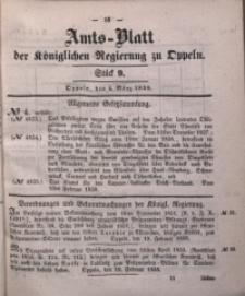 Amts-Blatt der Königlichen Regierung zu Oppeln, 1858, Bd. 43, St. 9