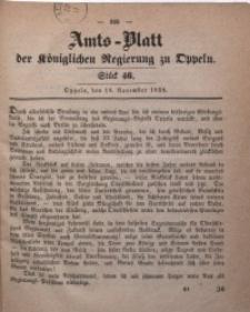 Amts-Blatt der Königlichen Regierung zu Oppeln, 1858, Bd. 43, St. 46