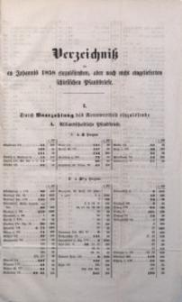Verzeichniß der an Johannis 1858 einzulösenden, aber noch nicht eingelieferten schlesischen Pfandbriefe