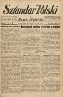 Sztandar Polski i Gazeta Rybnicka, 1932, R. 14, Nr. 21