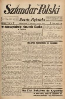 Sztandar Polski i Gazeta Rybnicka, 1932, R. 14, Nr. 70
