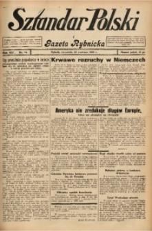 Sztandar Polski i Gazeta Rybnicka, 1932, R. 14, Nr. 72