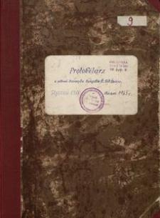 Protokólarz z posiedzeń Zarządu Związku Śląskich Kół Śpiewaczych od stycznia 1960 do marca 1965