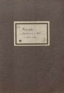 Statystyka z działalności Kół w 1945 roku