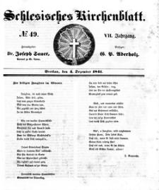Schlesisches Kirchenblatt, 1841, Jg. 7, nr 49
