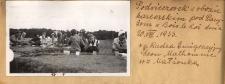 Podwieczorek w obozie harcerskim pod Paryżem w Bois le Roi dnia 20.VIII.1933