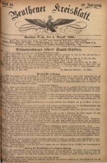 Beuthener Kreisbatt, 1890, Jg. 48, St. 32