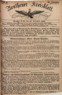 Beuthener Kreisbatt, 1890, Jg. 48, St. 51