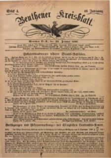 Beuthener Kreisbatt, 1891, Jg. 49, St. 4