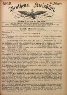 Beuthener Kreisbatt, 1906, Jg. 64, St. 24